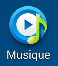Aper u de l application musique sur samsung galaxy frandroid - Application couper musique ...