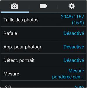 Taille Des Photos Dtermine La Rsolution De Photo En Millions Pixels 13M 96M 8M 6M Et 24M Plus Est Leve