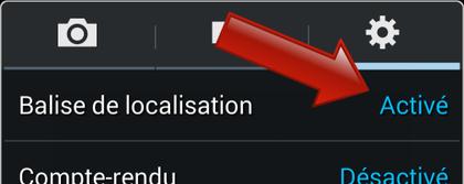 regler localisation iphone