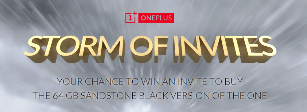 tempete oneplus one