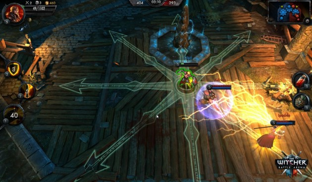 the witcher battle arena héros champions image 001