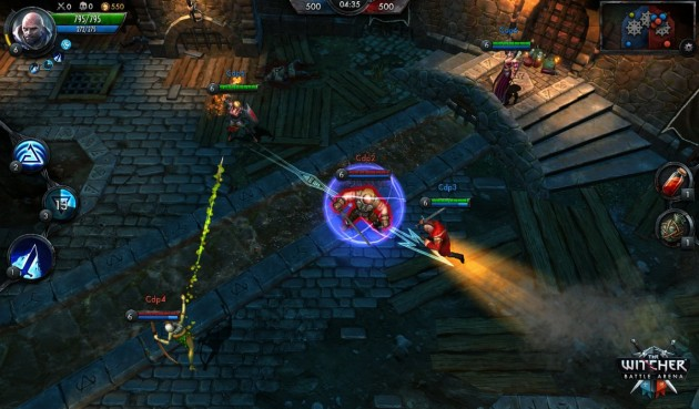 the witcher battle arena héros champions image 003