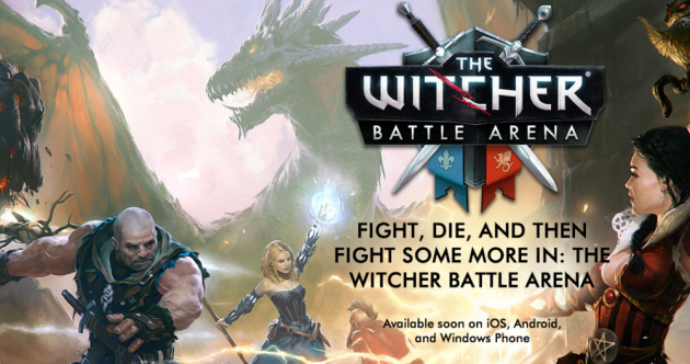 the witcher battle arenaandroid ios windows phone