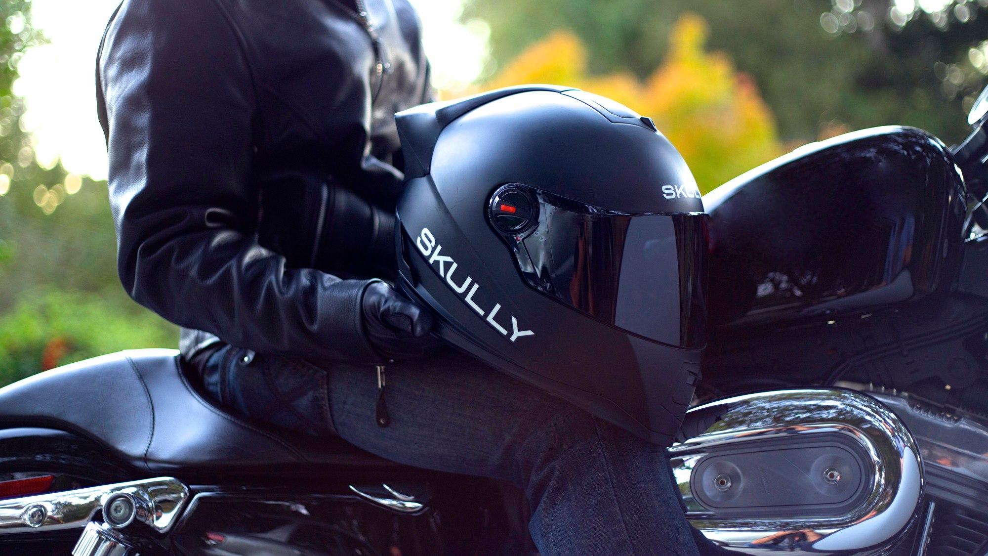 skully le casque de moto connect ultime frandroid. Black Bedroom Furniture Sets. Home Design Ideas