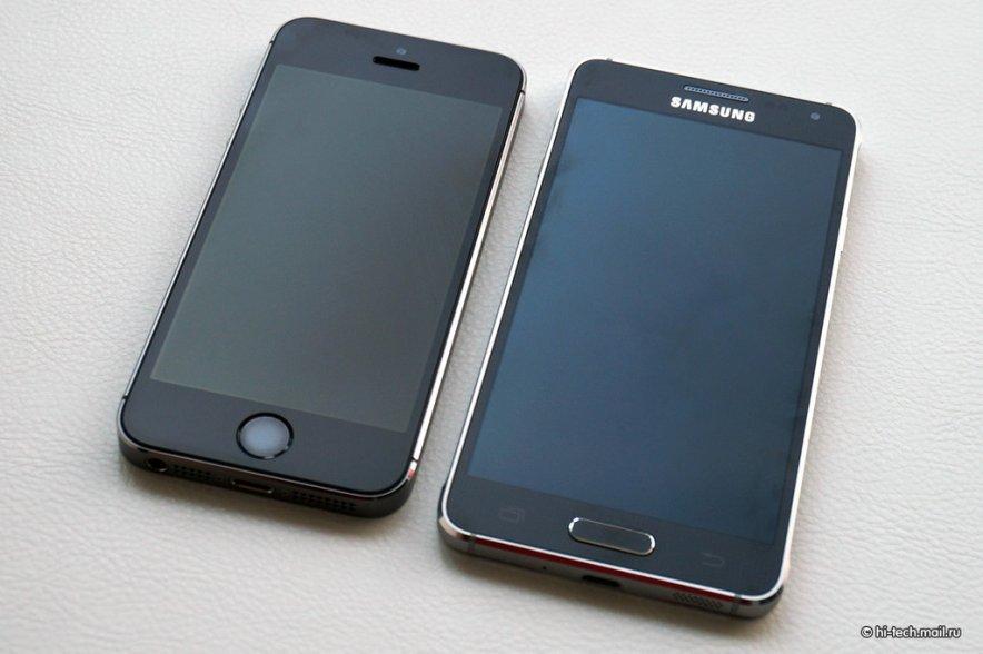 La lutte contre l'iPhone, le vrai positionnement du Galaxy Alpha ?