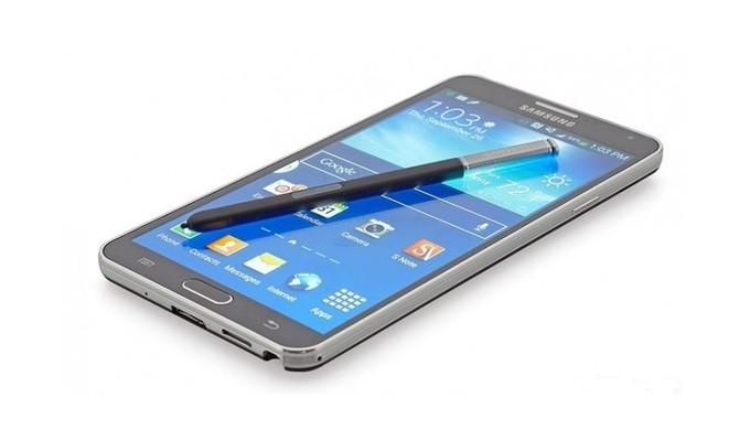On mettra bientôt un design sur le Galaxy Note 4