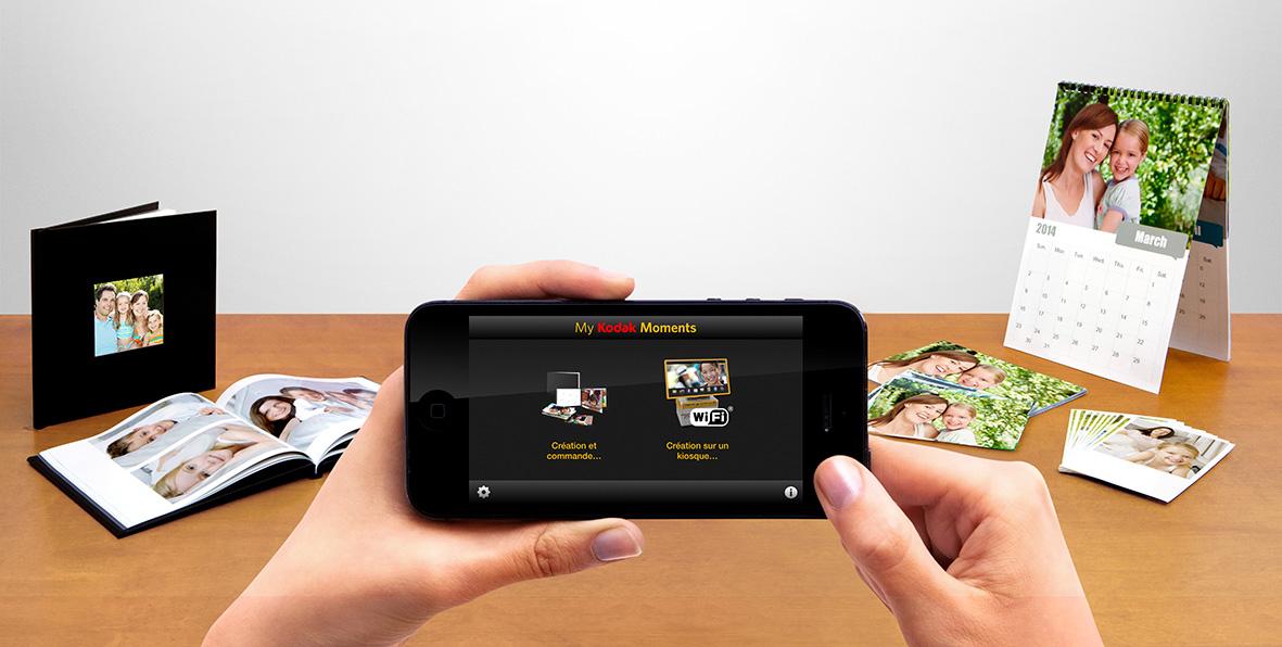 kodak d voile ses applications moments pour relancer l 39 impression de photos frandroid. Black Bedroom Furniture Sets. Home Design Ideas