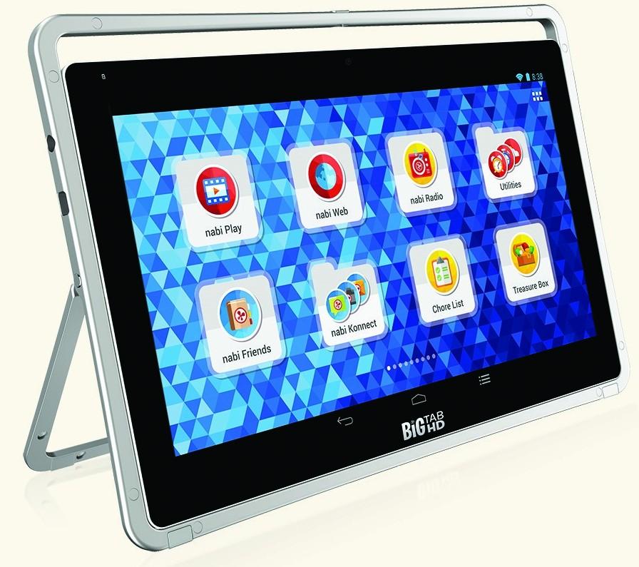 nabi big tab hd des tablettes de 20 et 24 pouces chez. Black Bedroom Furniture Sets. Home Design Ideas