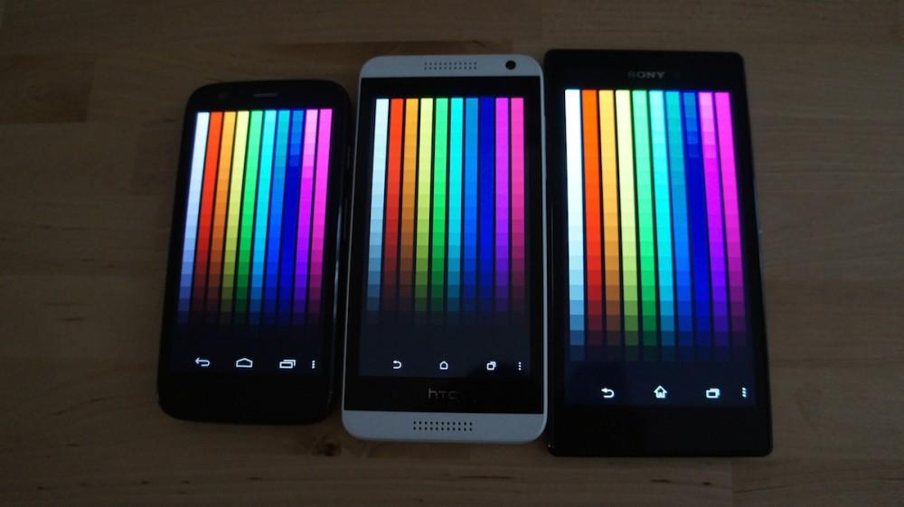 Panel de couleurs