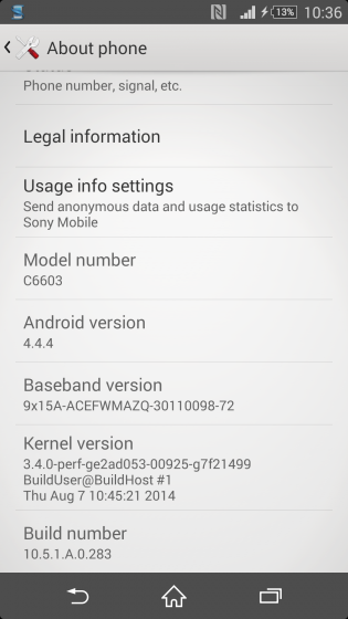 Xperia-Z-android 4-4-4