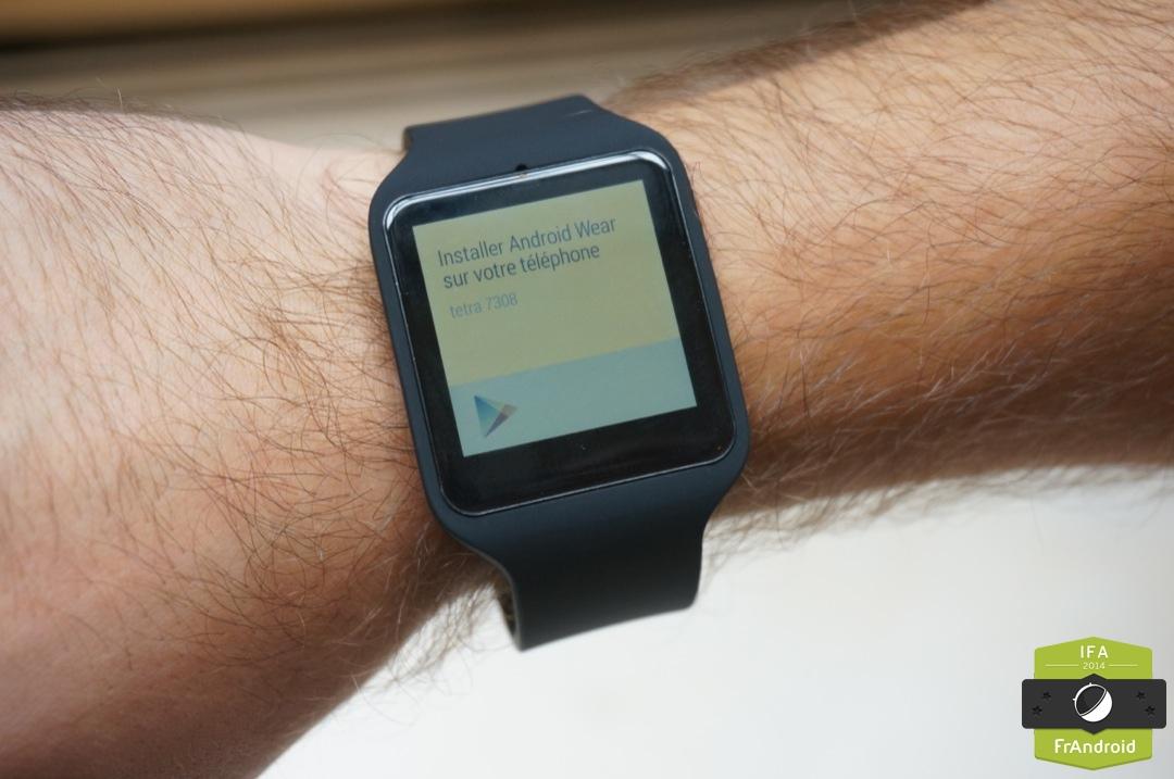 Prise en main de la Sony SmartWatch 3, de l'Android Wear ...