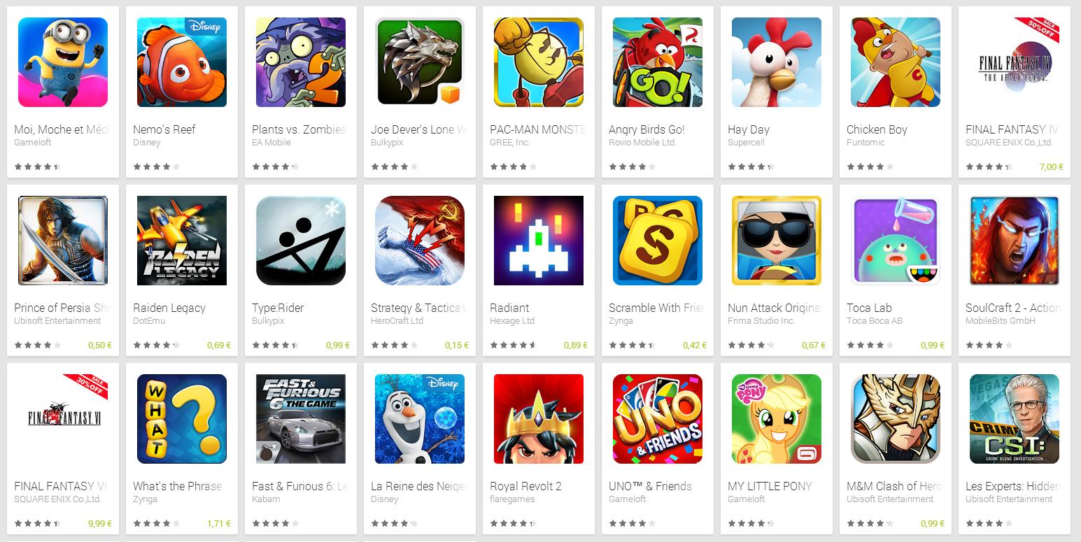 telecharger jeux pour android sans google play
