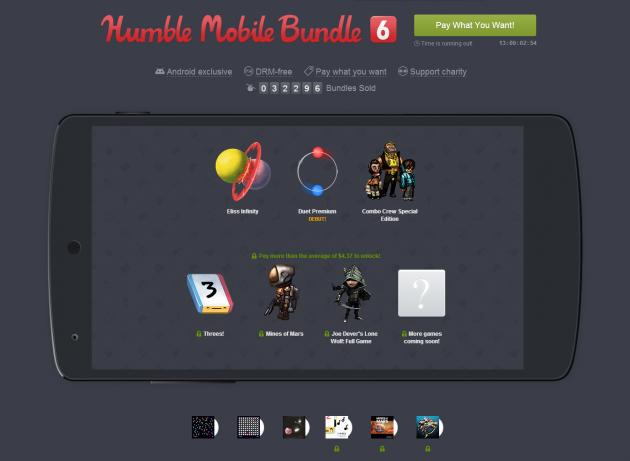 humble bundle mobile 6