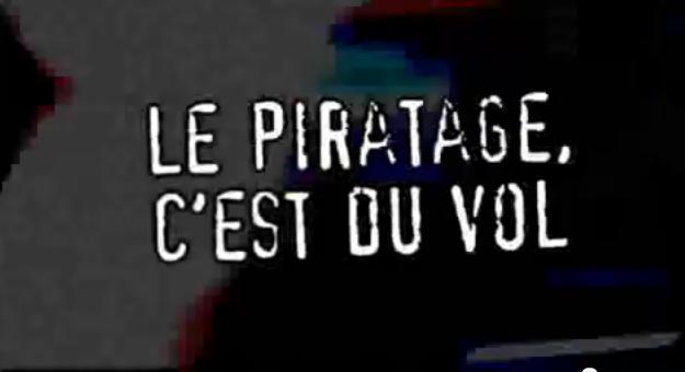 le piratage c'est du vol