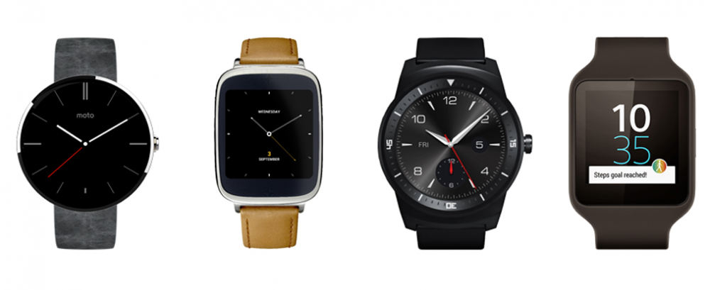 Montres Android Wear