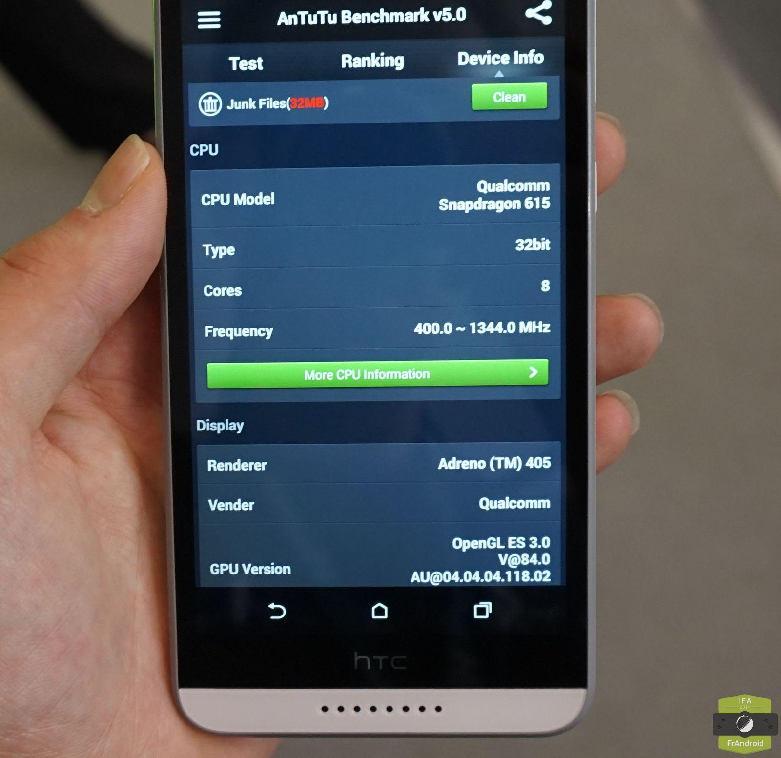 Prise en main du htc desire 820 par pour android l for 820 12