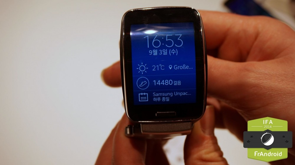 Galaxy Gear S IFA-0003
