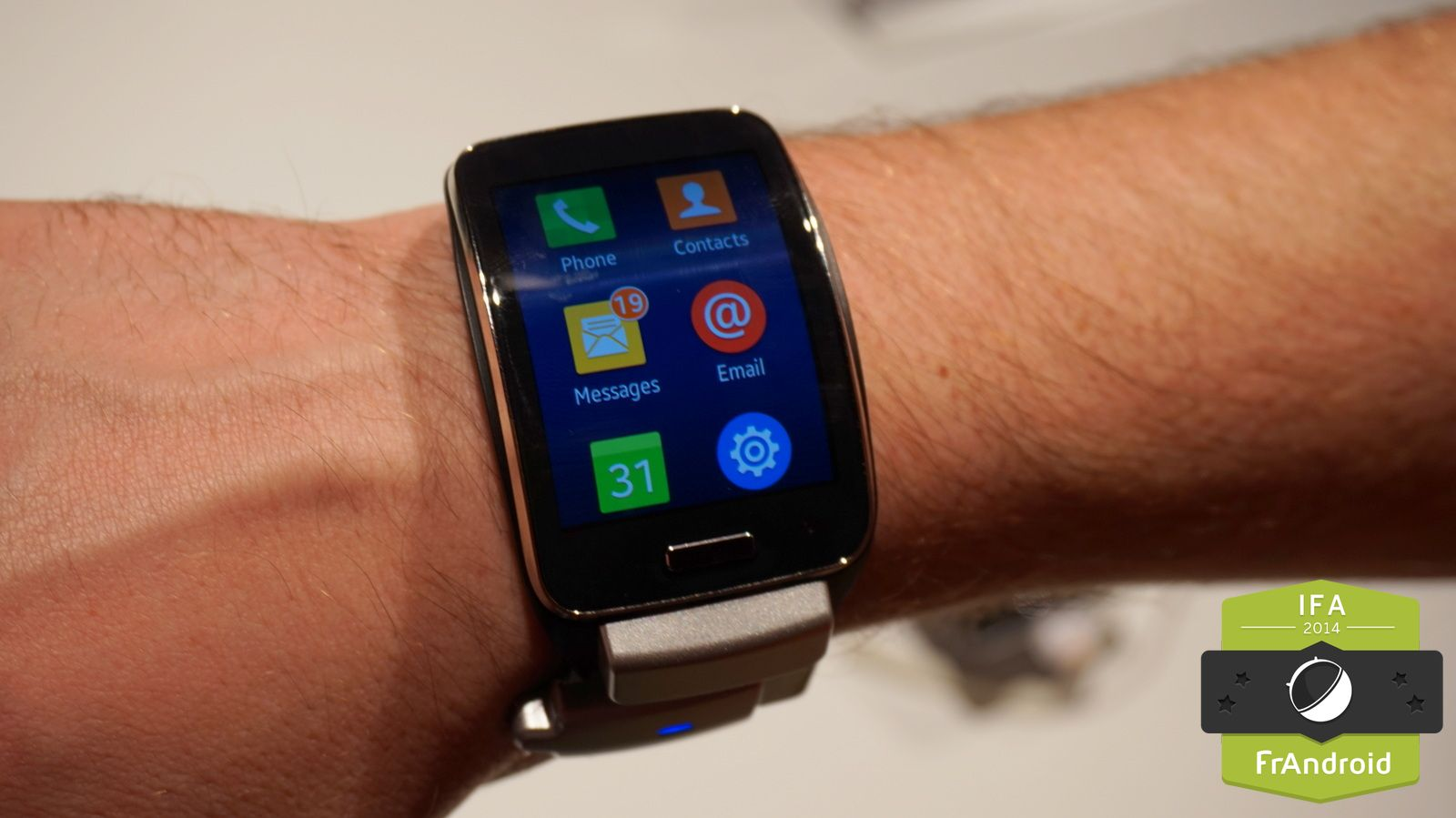 how to connect galaxy gear to android