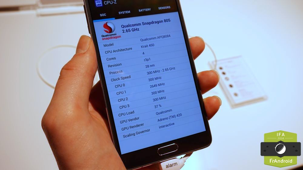 Galaxy Note 4 IFA-0019