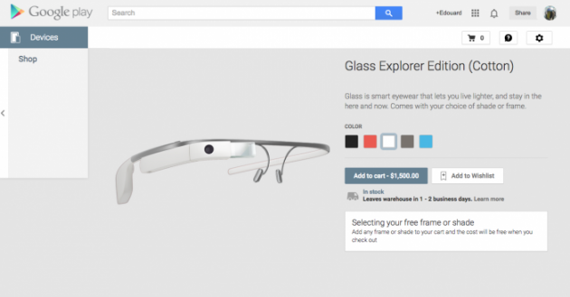 google glass, 24h chez Google : Glass, HTC, in-apps…