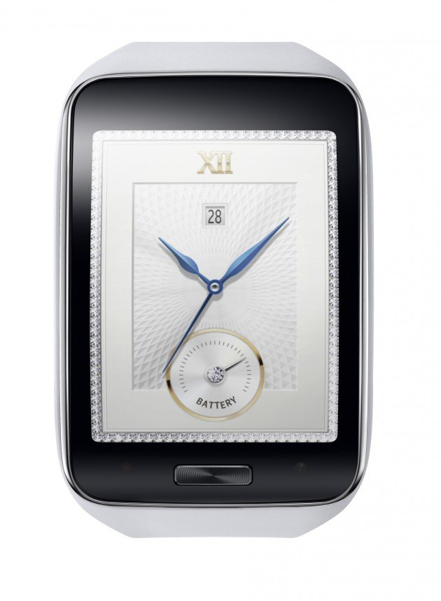 Samsung Gear S_Pure White_1