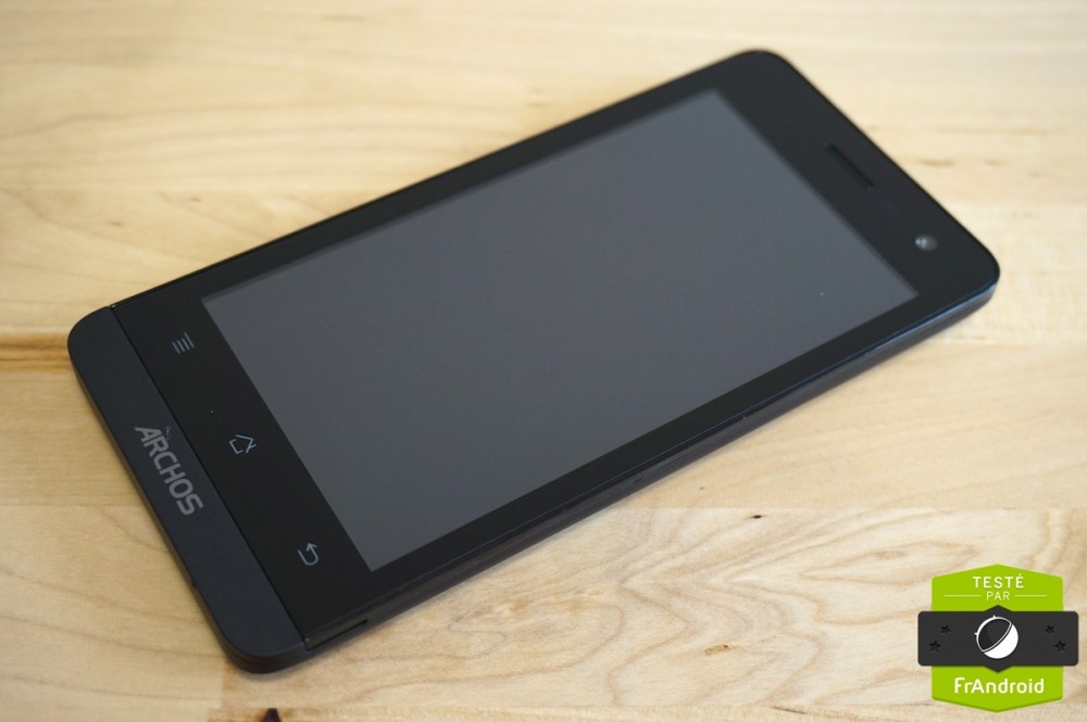 Test android frandroid archos 45 Helium 1