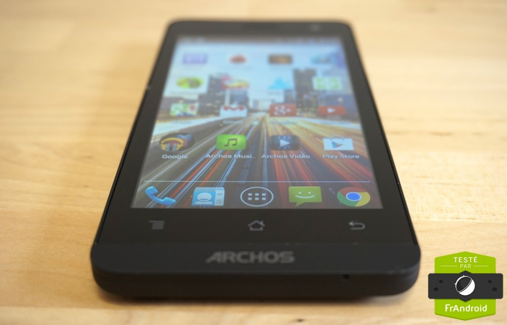 Test android frandroid archos 45 Helium 13