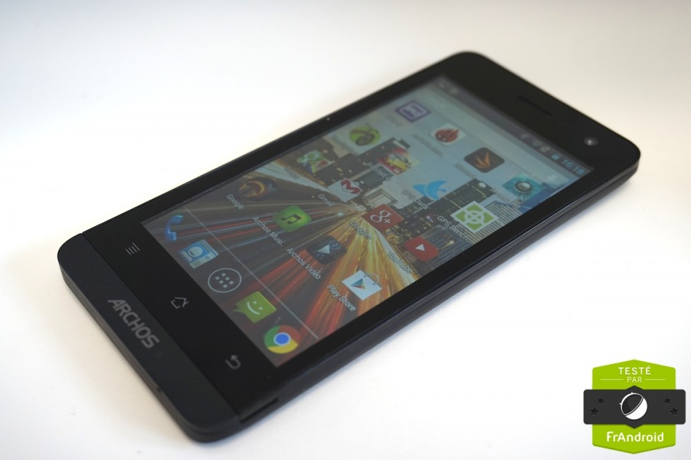 Test android frandroid archos 45 Helium 17