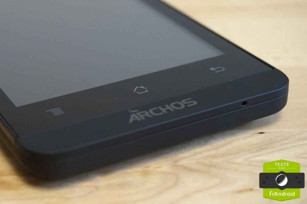Test android frandroid archos 45 Helium 6