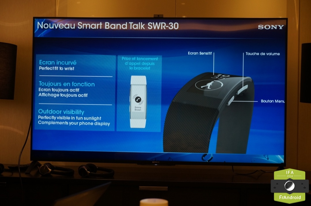 sony smartband talk swr 30 un tracker d 39 activit avec. Black Bedroom Furniture Sets. Home Design Ideas