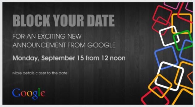 Invitation Google Inde