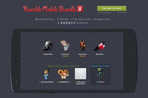 humble bundle mobile 8