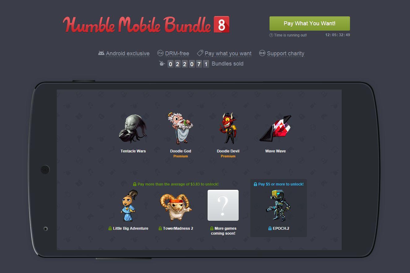 Le huitième Humble Bundle Mobile est disponible : un sans ...
