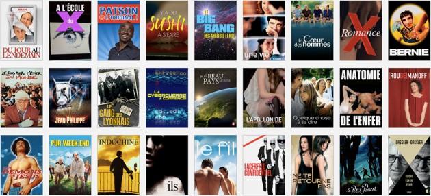 En cinéma français, du bon, du beaucoup moins bon... et pire encore.