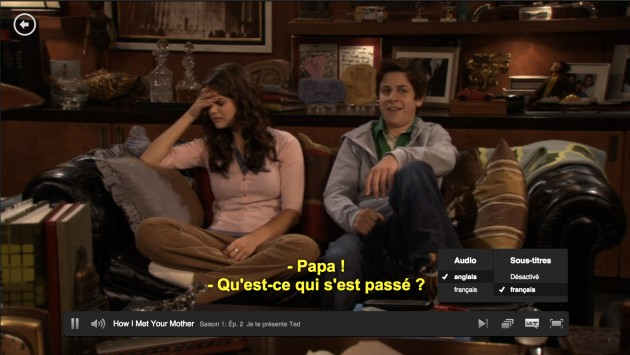 Netflix sous-titres