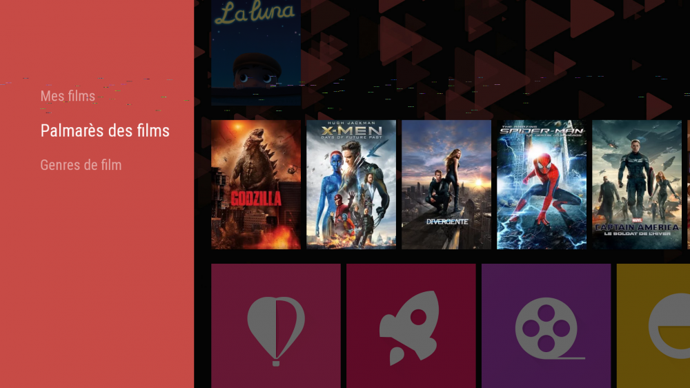 Android TV interface 8