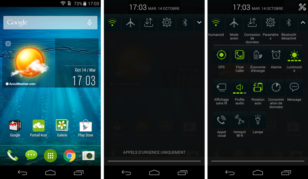 Android acer liquid jade 1