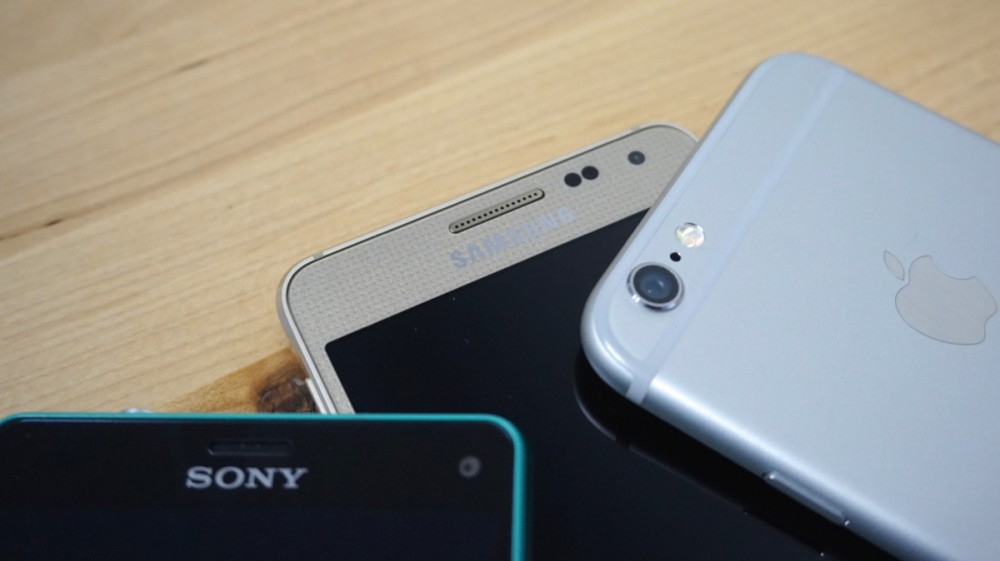 Comparatif Xperia Z3 Compact Galaxy Alpha iPhone 63