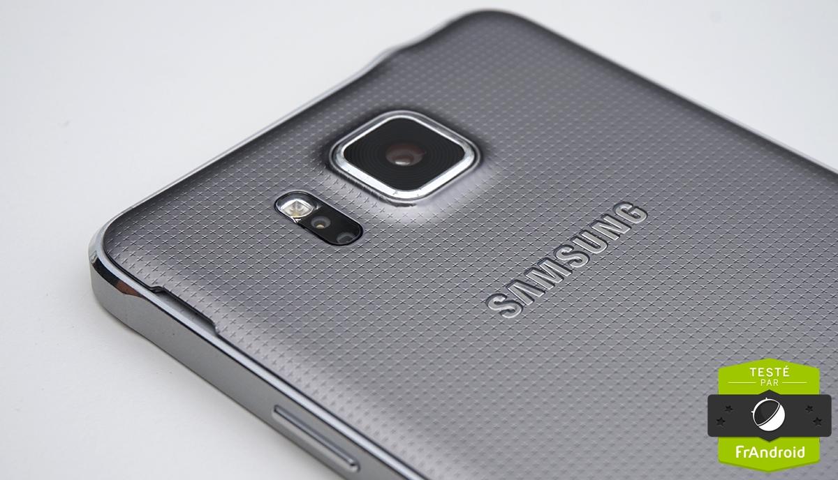 samsung alpha téléphone installation de la batterie
