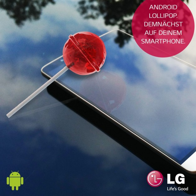 LG G2 G3 Android Lollipop