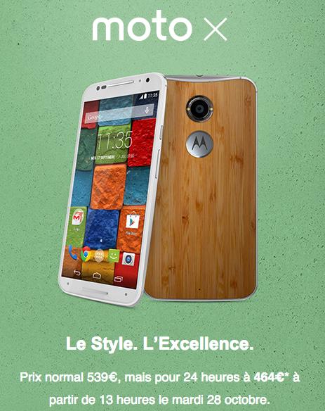 Motorola Moto X promo