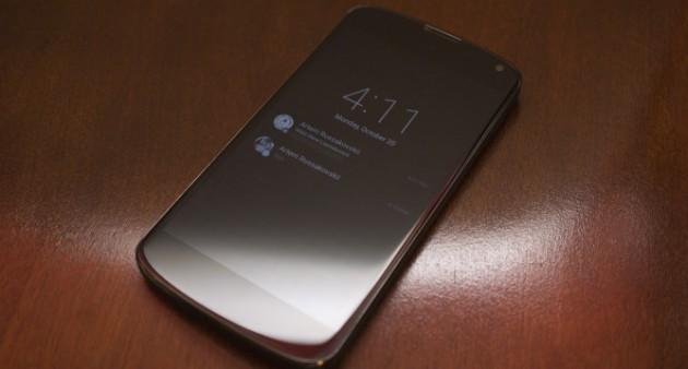 Nexus 4 ambiant display