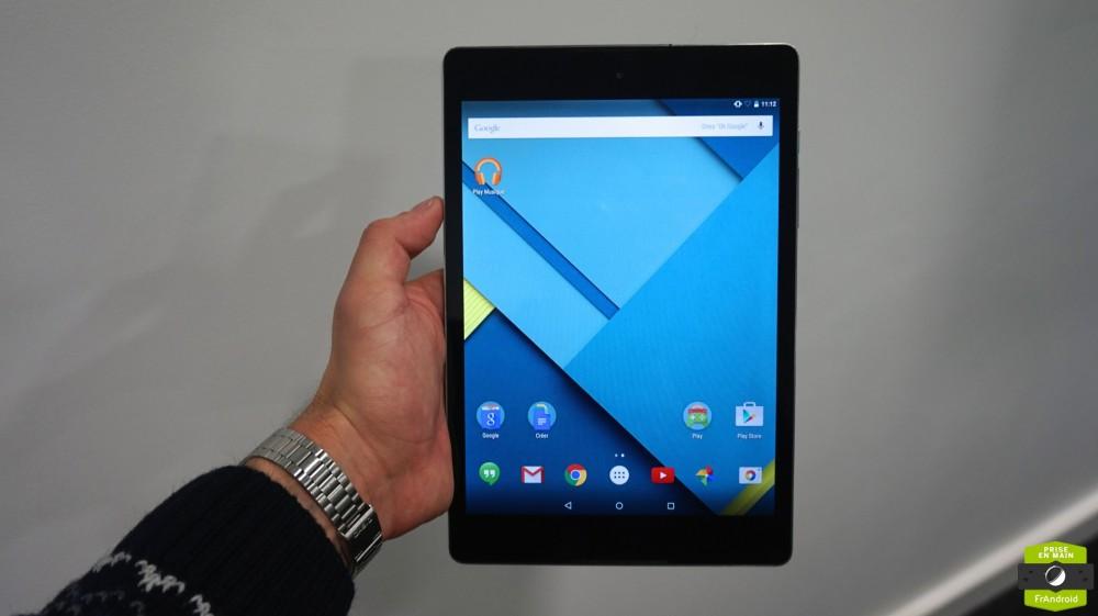 Nexus 9 Prise en main05