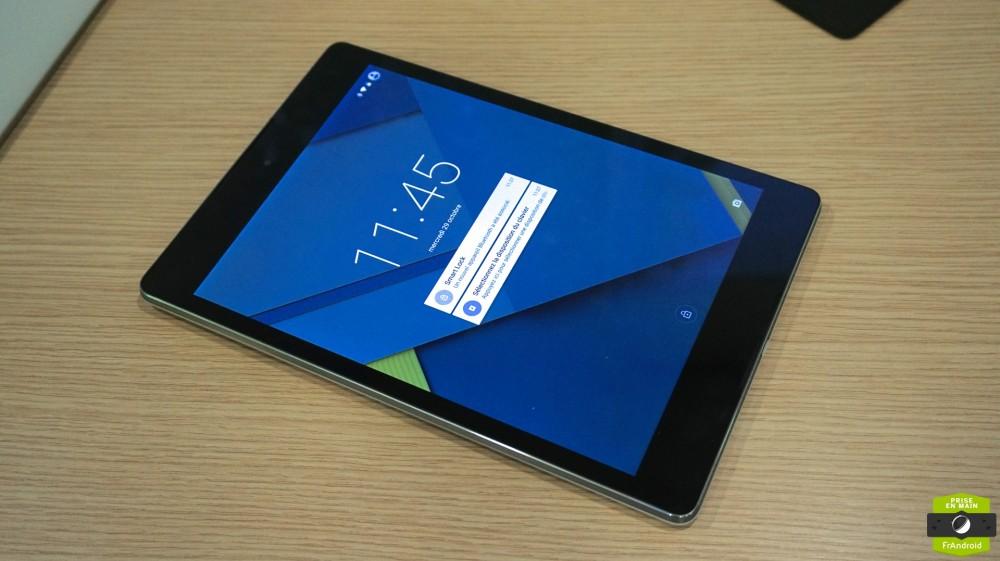 Nexus 9 Prise en main27
