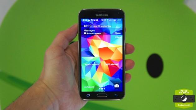 Samsung Galaxy S5 4G+ Prise en main 2