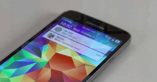 Samsung Galaxy S5 Material Design