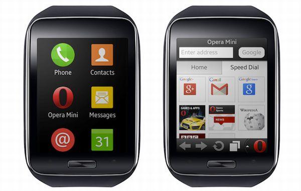 Samsung Gear S Opera Mini