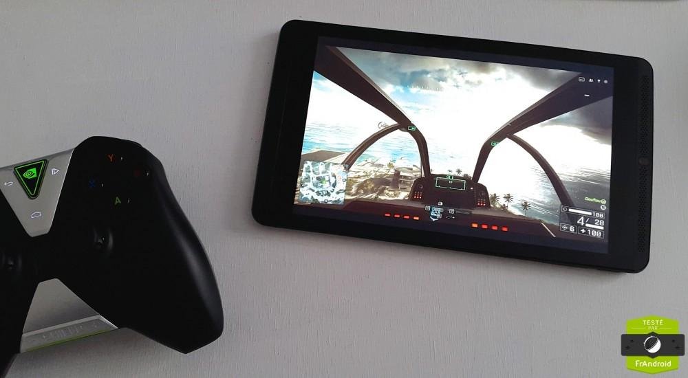 Battlefield 4 sur la Shield Tablet via la 4G aurait été parfait