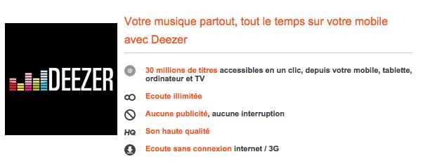 Deezer Orange