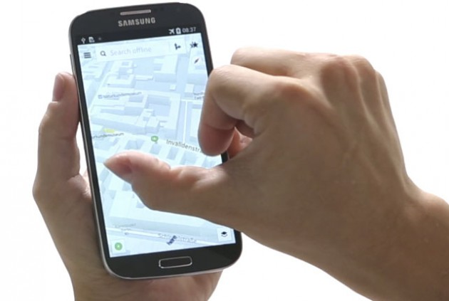 here maps galaxy samsung